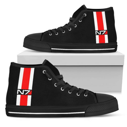 N7 Shoes | Mass Effect inspired N7 High Tops