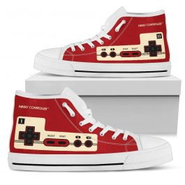 FAMICOM Shoes – Family Controller High Top Shoes