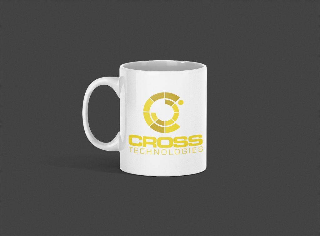 Cross Technologies Logo Mug