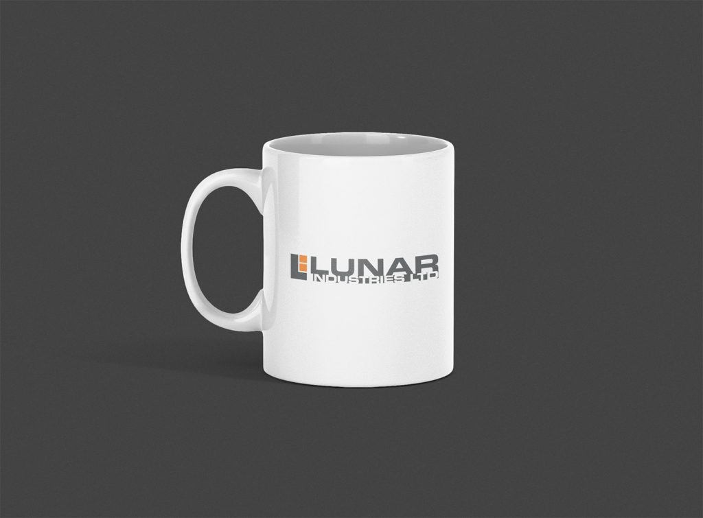 Lunar Industries Ltd Logo Mug