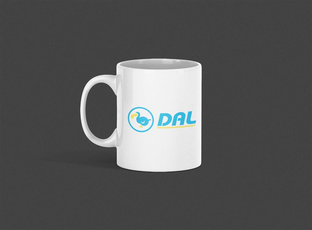 DAL Dodo Airlines Logo Mug