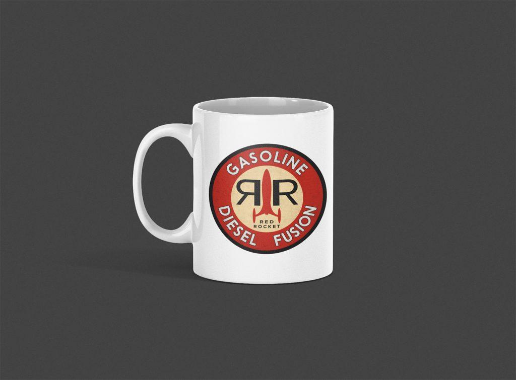 Red Rocket Logo Mug