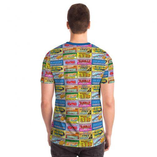 Idiocracy Branded Logos Unisex T-Shirt - Back - Man
