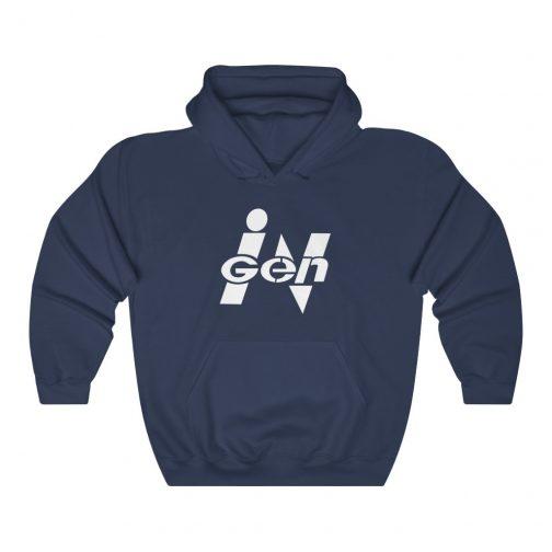 InGen Logo Hoodie - Navy