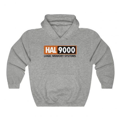 HAL-9000 Logo Hoodie - Grey