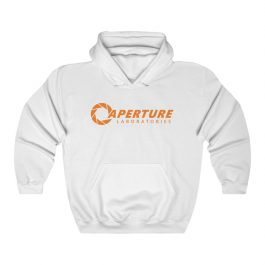 Aperture Laboratories Orange Logo Hoodie