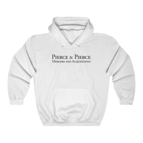 Pierce & Pierce - Mergers & Acquisitions Logo Hoodie - White