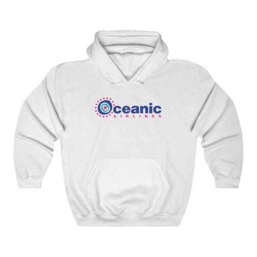 Oceanic Airlines Logo Hoodie - White