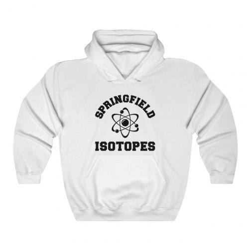 Springfield Isotopes Logo Hoodie - White