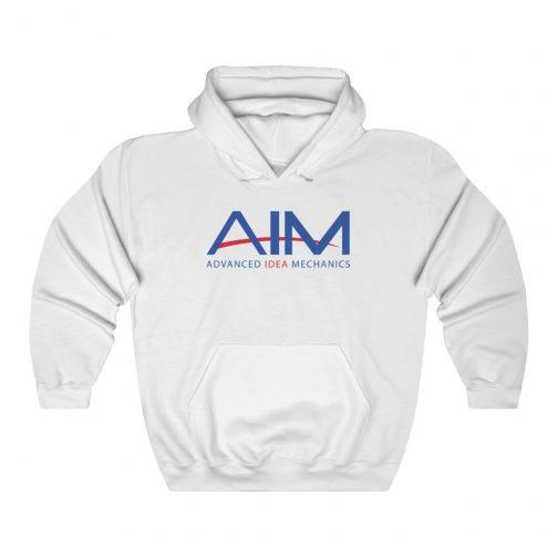 AIM - Advanced Idea Mechanics Logo Hoodie - White