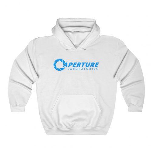 Aperture Laboratories Hoodie - White