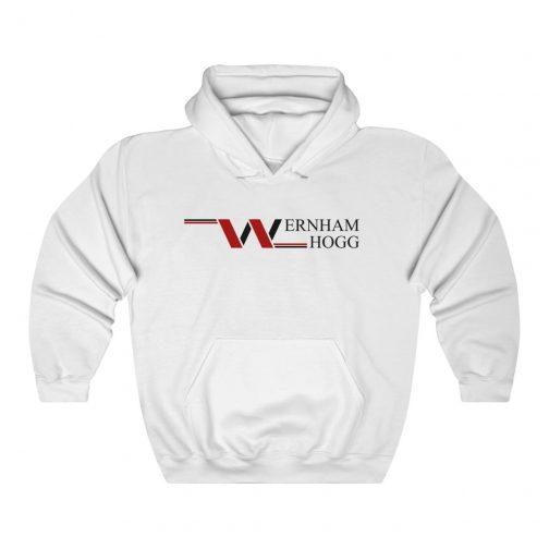 Wernham Hogg Logo Hoodie - White