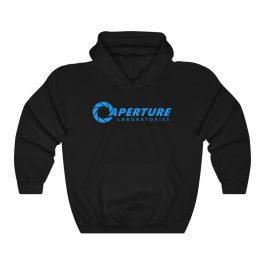 Aperture Laboratories Blue Logo Hoodie