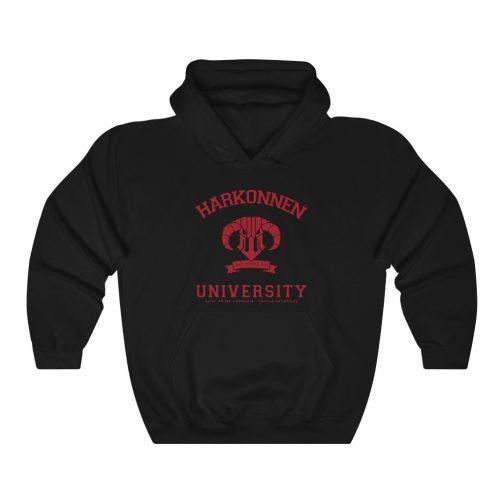 Harkonnen University Hoodie - Black