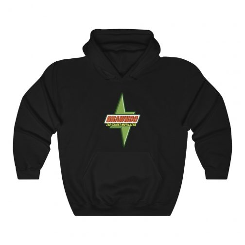 Brawndo Logo Hoodie - Black
