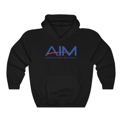 AIM - Advanced Idea Mechanics Hoodie | Black
