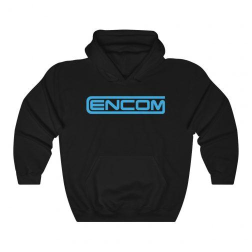 ENCOM Logo Hoodie - Black