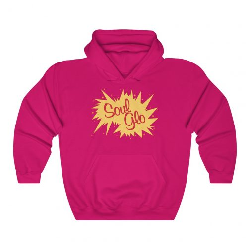 Soul Glo Logo Hoodie - Heliconia