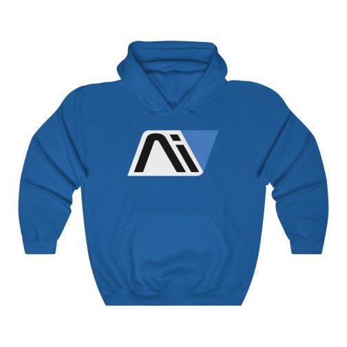 Andromeda Initiative Ai Logo Hoodie - Royal Blue
