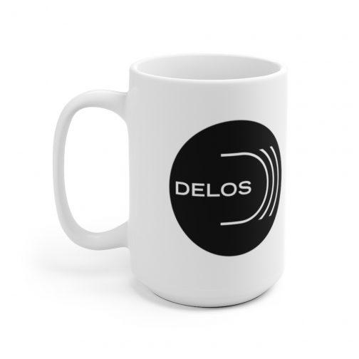 Delos Inc Logo Mug
