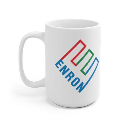 Enron Logo Mug - 15oz