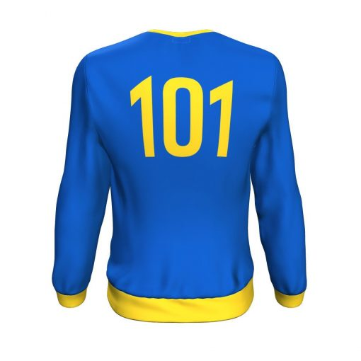 Vault-Tec Vault 101 Sweatshirt - Rear View