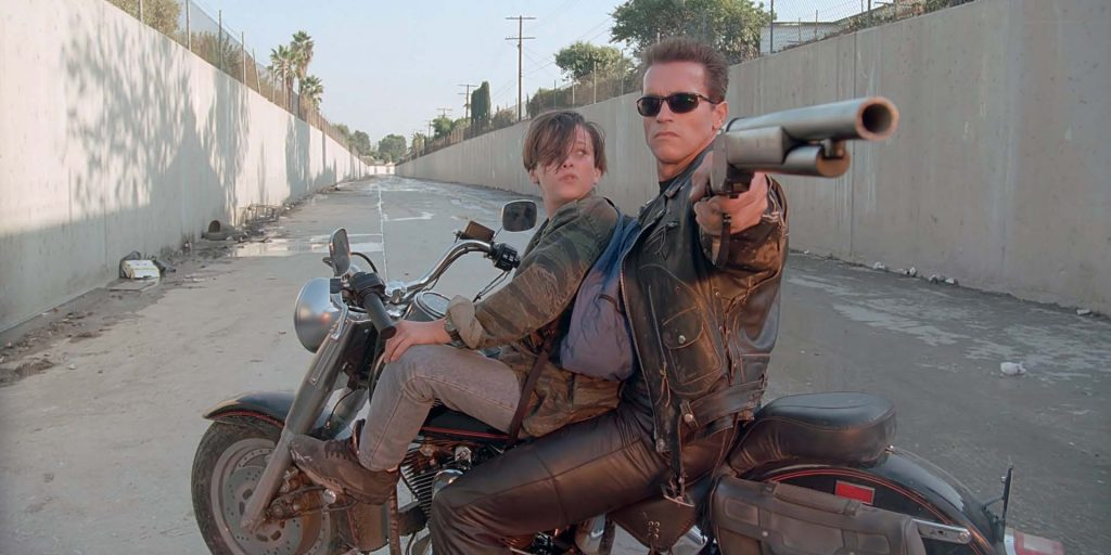 Email Newsletter Signup Background - Terminator 2