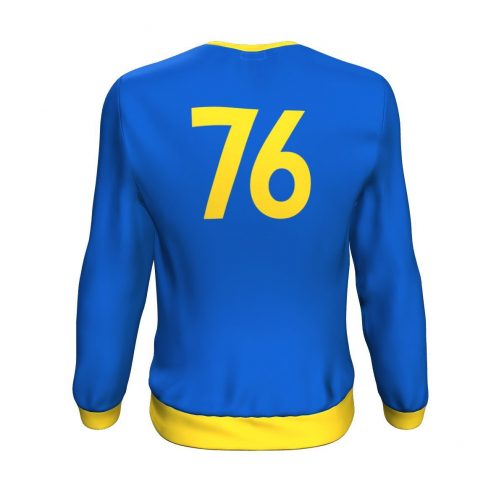 Vault-Tec Vault 76 Sweatshirt - Rear View