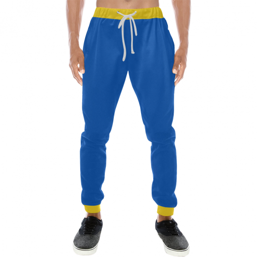 Vault Boy Vault Suit Cosplay Sweatpants - Front View