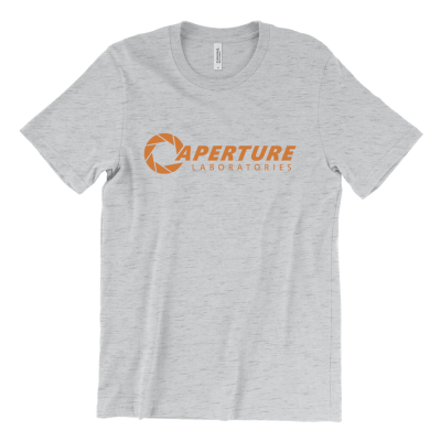 Aperture Laboratories from Portal orange logo T-Shirt