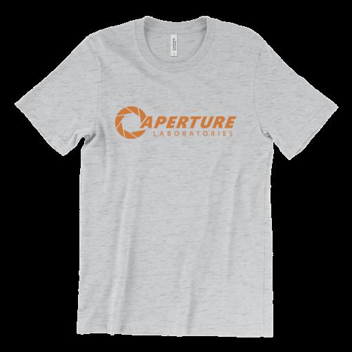 Aperture Laboratories from Portal orange logo T-Shirt