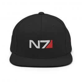 N7 4-side Embroidery Snapback Hat
