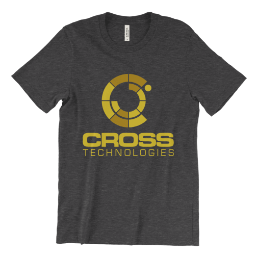 Cross Technologies logo T-Shirt