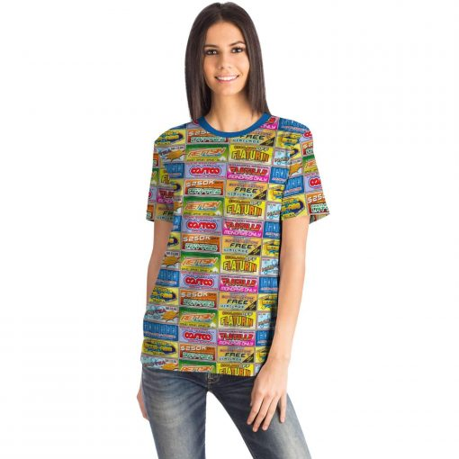Idiocracy Branded Logos Unisex T-Shirt - Front - Woman