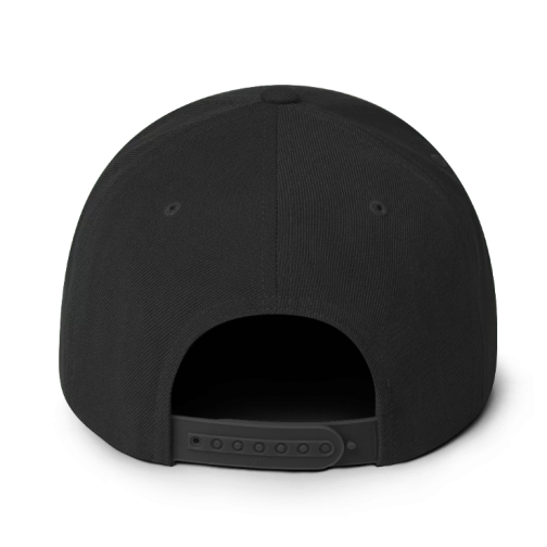 Classic Snapback Hat - Rear View