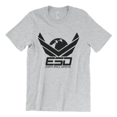 ESD - Earth Space Defense logo T-Shirt