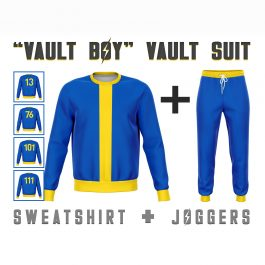 Vault Boy Vault Suit
