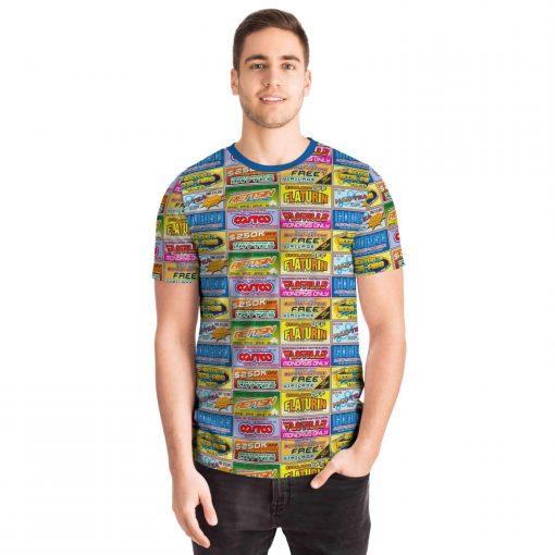 Idiocracy Branded Logos Unisex T-Shirt - Front - Man