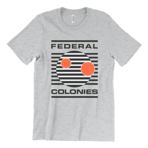 Federal Colonies Logo T-Shirt - Total Recall