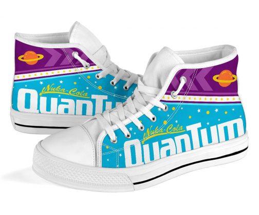 Nuka-Cola Quantum High-Top Canvas Shoes