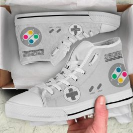 SNES Controller Shoes – World Edition