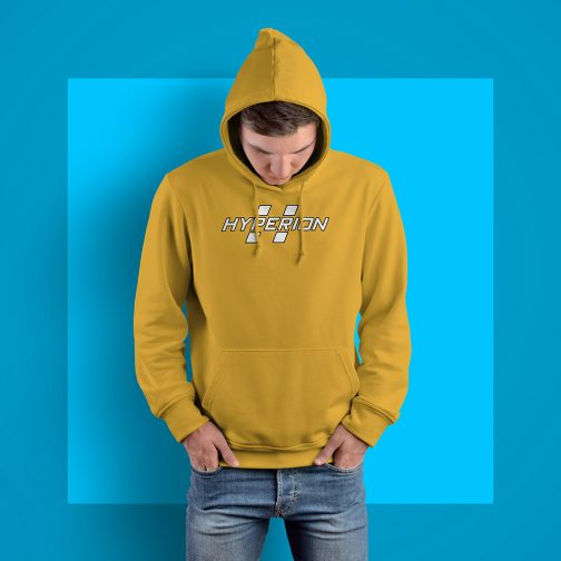 Hyperion Yellow Logo Hoodie