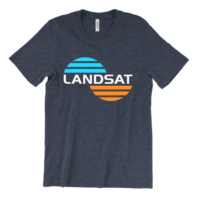 LANDSAT Patch T-Shirt