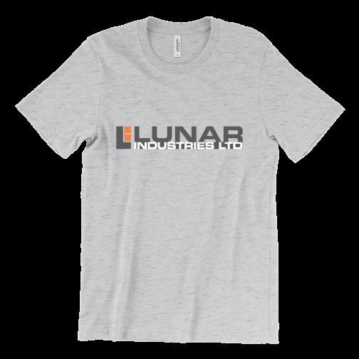 Lunar Industries logo — Moon