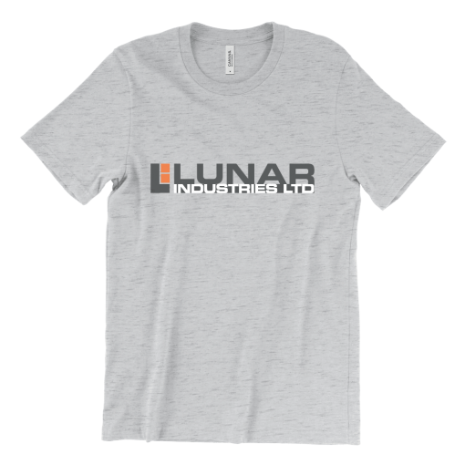 Lunar Industries logo — Moon