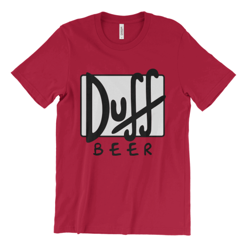 The Simpsons Duff Beer logo T-Shirt