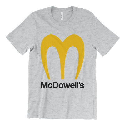 McDowell's logo T-Shirt