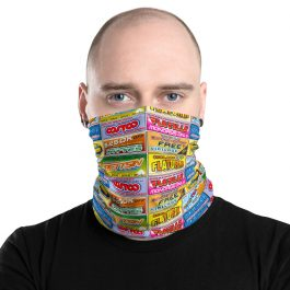 Idiocracy All-Over-Printed Logo Brands Face & Neck Mask