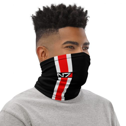 N7 Face and Neck Mask / Gaiter | FictionalCorporations.com
