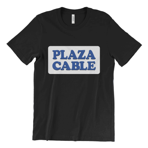 Plaza Cable logo T-Shirt